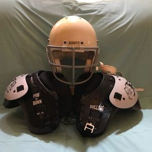 Other - Football Helmet and shoulder pads